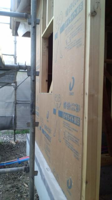 O様邸「南通り築地の家」 工事中です。_f0150893_2011118.jpg