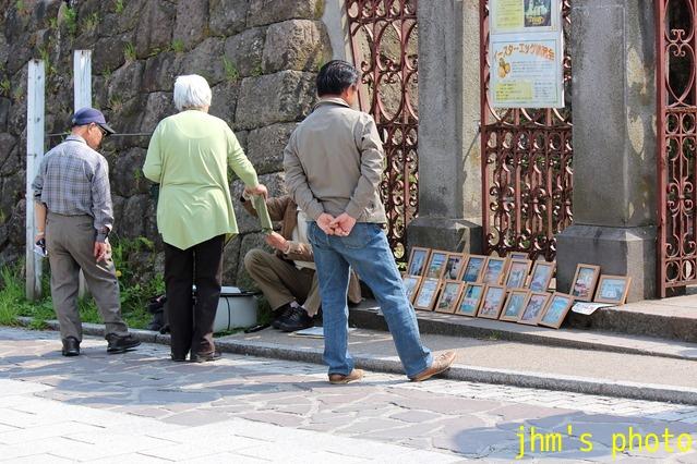 桜散る元町の散策と女神へのメッセージ_a0158797_23183633.jpg