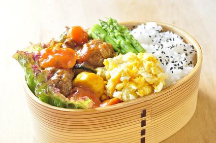 豆腐入り肉団子の甘酢餡弁当_b0171098_844232.jpg