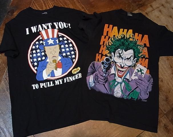 5/26(土)入荷商品!JORKER Tシャツ、ビーバス&ディック トレーシーTシャツ!_c0144020_1427462.jpg
