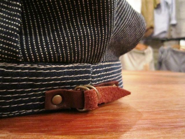 "RIDING HIGH \""2TONE LINEN WORK CAP\"" ご紹介_f0191324_934544.jpg"