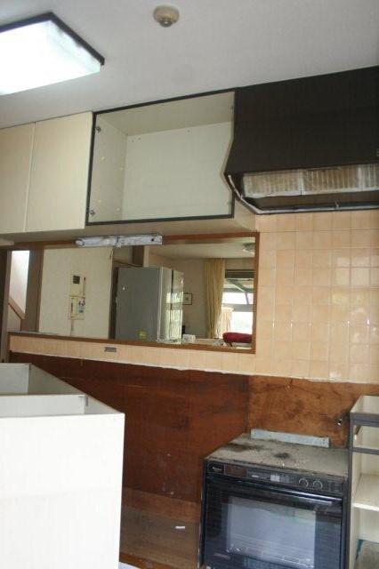 今日からキッチンのリフォームです(東京都多摩市)_e0207151_1121453.jpg