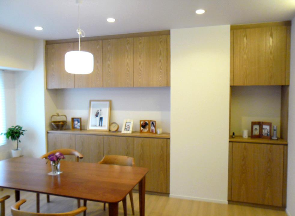 白いマンションを少し変える仕事_f0171785_1571799.jpg