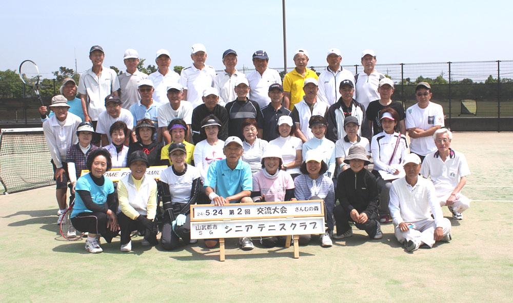 シニアテニスの交流大会に参加_b0114798_1016259.jpg