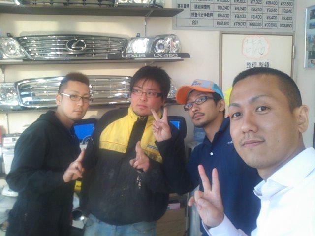 ランクルトミー札幌店(^o^)トラッシュ_b0127002_17593039.jpg