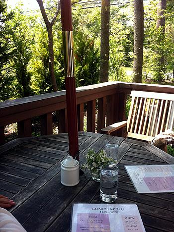新緑の軽井沢へカフェcafe Le Petit Nid 3_f0235227_2248514.jpg
