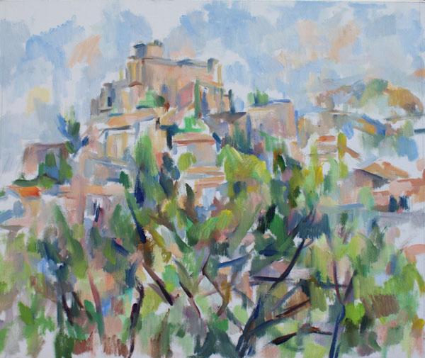 バルーの城と松(第一段階)_c0236929_15412395.jpg
