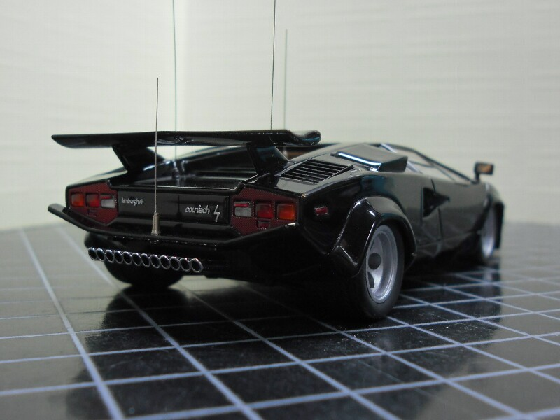 lamborghini countach lp400s 1981 cannonball run modelcar 39 s junkie. Black Bedroom Furniture Sets. Home Design Ideas