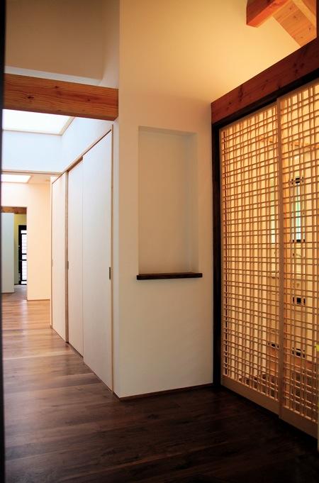 「聖蹟桜ヶ丘の家」アプローチ・玄関・居間_f0230666_13265330.jpg