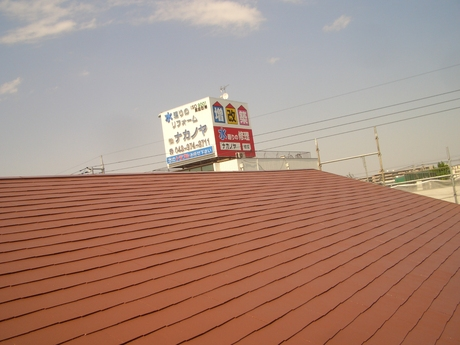 外壁屋根塗装(アステック)+太陽光(シャープ5.32kw) 越谷T様邸 ③_a0229594_10505111.jpg