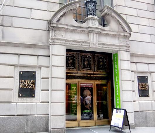ニューヨークならではの金融ミュージアム  Museum of American Finance_b0007805_52149.jpg