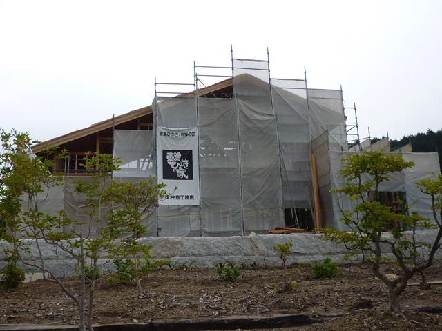 茶畑に建つ家 上棟式に参加_f0207410_16404011.jpg