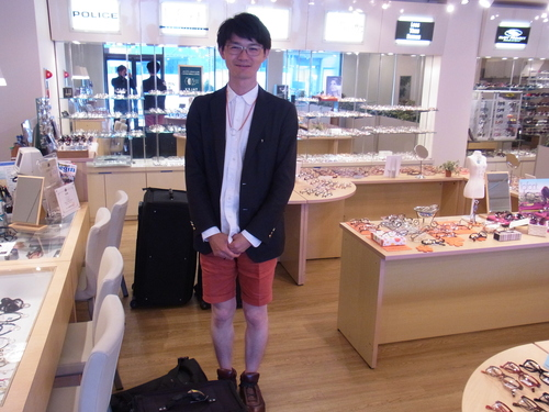 GLOBE SPECS 宮崎さん来店(二見)_a0150916_14393621.jpg