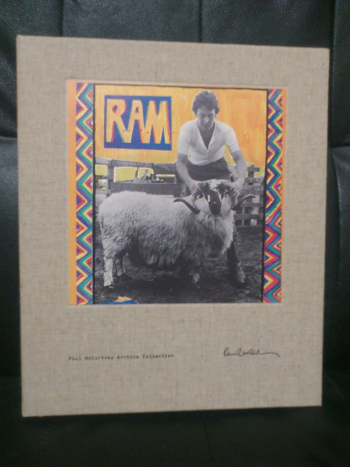 「ざまーみろ」 ポール・マッカートニー「RAM」再発売にあたって_a0189732_18392027.jpg