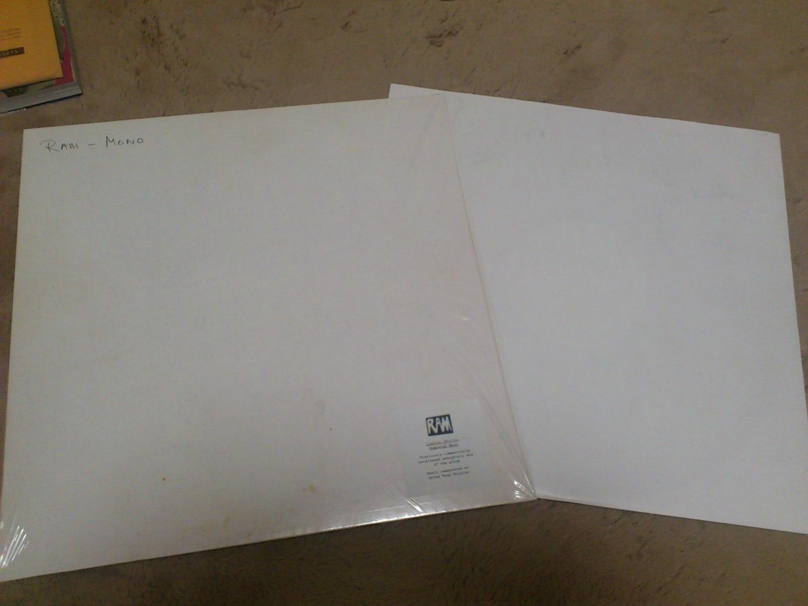 「ざまーみろ」 ポール・マッカートニー「RAM」再発売にあたって_a0189732_1840466.jpg