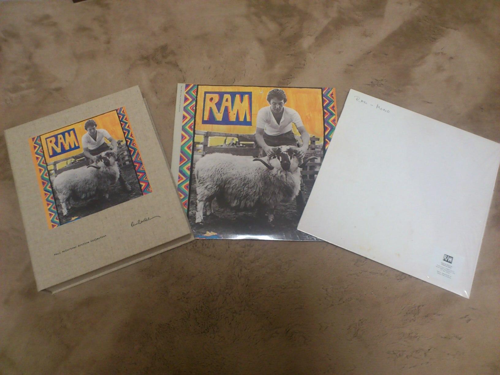 「ざまーみろ」 ポール・マッカートニー「RAM」再発売にあたって_a0189732_18545648.jpg