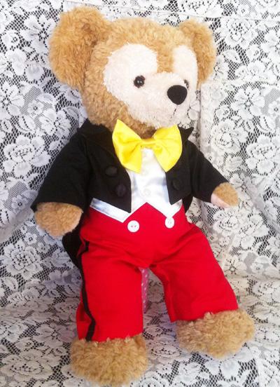 ダッフィーにミッキーコスの衣装作った_c0036138_18472682.jpg