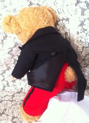 ダッフィーにミッキーコスの衣装作った_c0036138_1913168.jpg