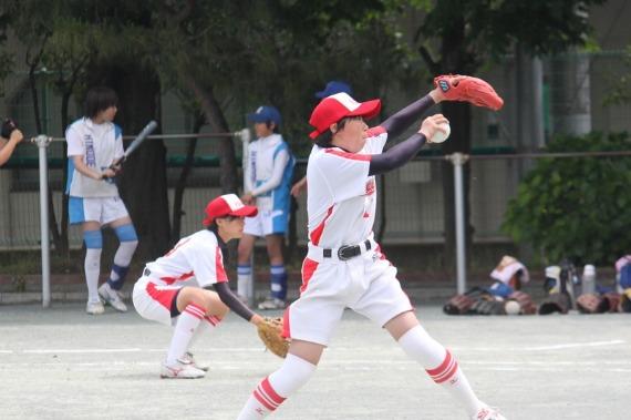 厚崎中学ソフトボール部 フォトギャラリー 蒲田編_b0249247_2246736.jpg