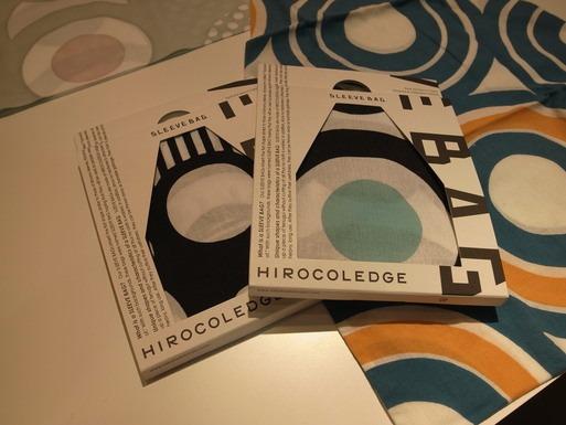 ヒロコレッジのおしゃれなSLEEVE BAG。_f0207748_20511379.jpg