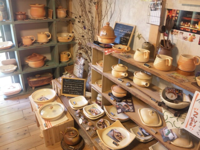 熊本県植木近くの窯元『幻窯』に、自宅用の器を買いに行きました。_b0215460_1842613.jpg