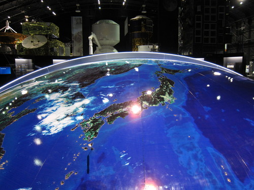 JAXA 筑波宇宙センターへ取材 その2_c0166765_1901976.jpg