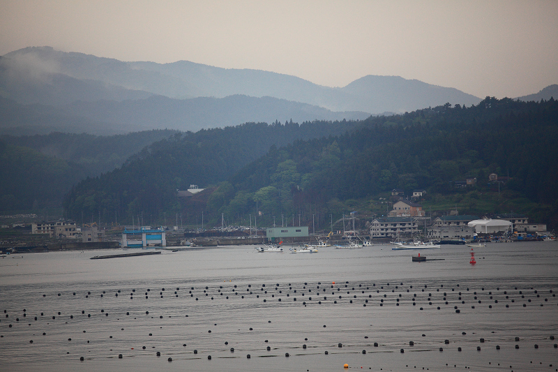 南三陸志津川 俯瞰してみると静かなおだやかな海_a0160581_2191169.jpg