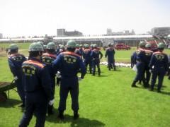 板橋区合同総合水防訓練参加!!_c0223192_22164961.jpg
