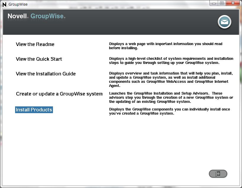 GroupWise 6.5 -> GroupWise2012 への update - 1_a0056607_1724758.jpg