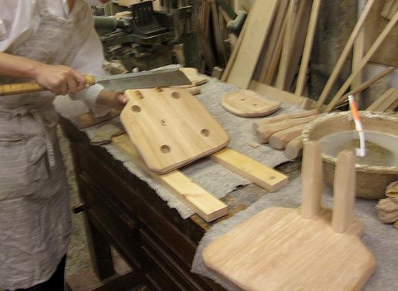 木工初心者コース「こねこ椅子組み立て」_e0072513_10234073.jpg