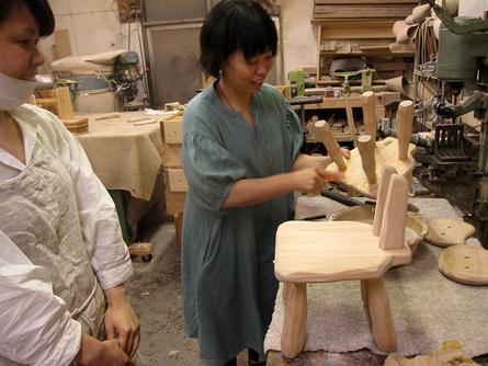 木工初心者コース「こねこ椅子組み立て」_e0072513_10253187.jpg
