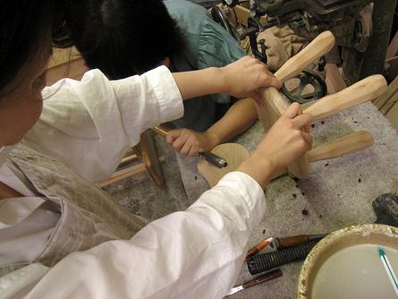 木工初心者コース「こねこ椅子組み立て」_e0072513_10291990.jpg