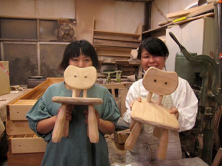 木工初心者コース「こねこ椅子組み立て」_e0072513_10305898.jpg