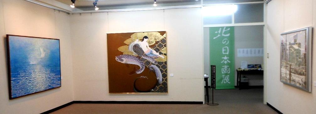 1771)①「北の日本画展 第27回」 時計台 終了5月21日(月)~5月26日(土)  _f0126829_16573070.jpg