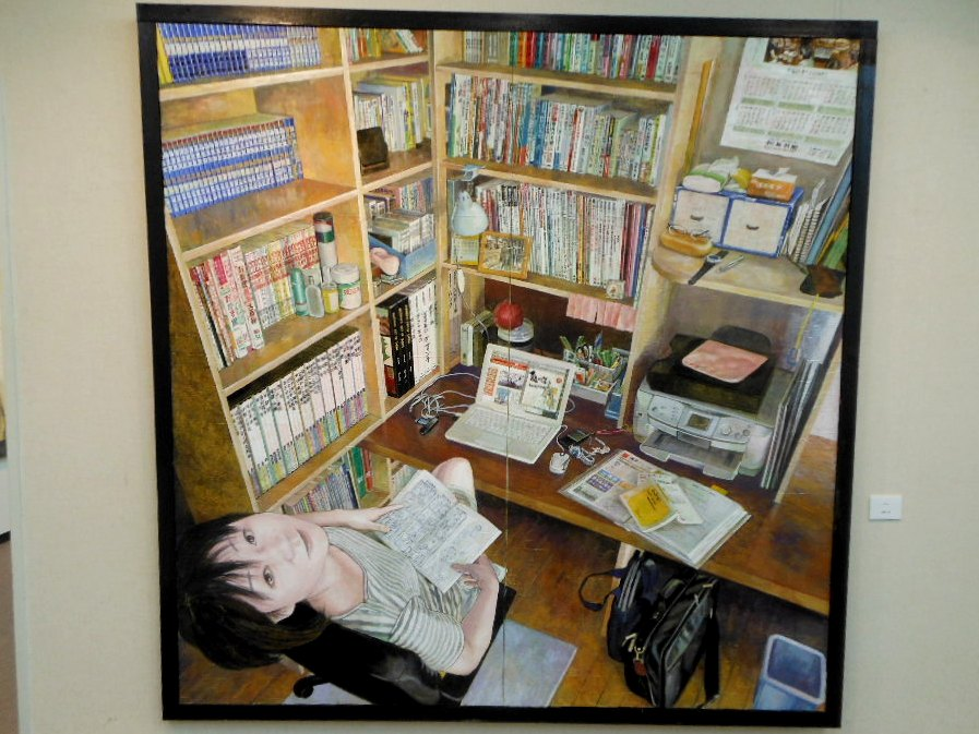 1771)①「北の日本画展 第27回」 時計台 終了5月21日(月)~5月26日(土)  _f0126829_1816546.jpg