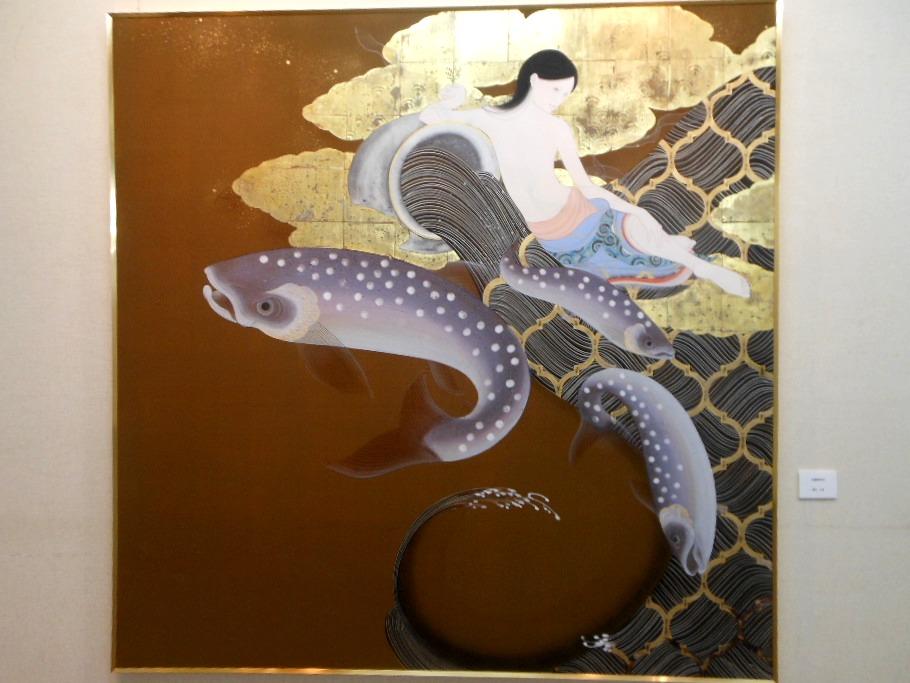 1771)①「北の日本画展 第27回」 時計台 終了5月21日(月)~5月26日(土)  _f0126829_1871472.jpg