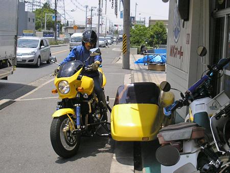 【5月26日 GSX1400 & マツシタサイドカーの納車】_e0218639_0382521.jpg