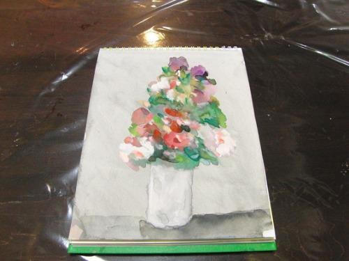 水彩画 ~ 薔薇 ~_e0222340_18151284.jpg