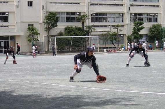 錦田中学ソフトボール部フォトギャラリー 名古屋、蒲田編 _b0249247_23223145.jpg