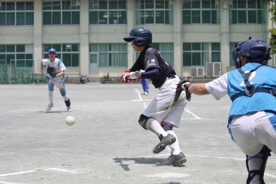 錦田中学ソフトボール部フォトギャラリー 名古屋、蒲田編 _b0249247_2322885.jpg