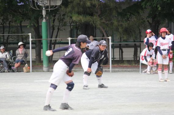 錦田中学ソフトボール部フォトギャラリー 名古屋、蒲田編 _b0249247_2326885.jpg