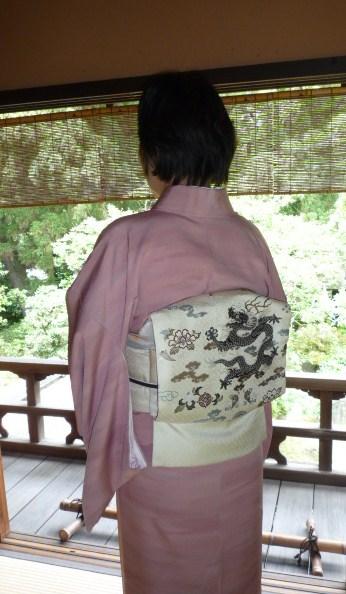 聞香会・鶴でお選び下さった帯のお客様の着姿。_f0181251_16162697.jpg