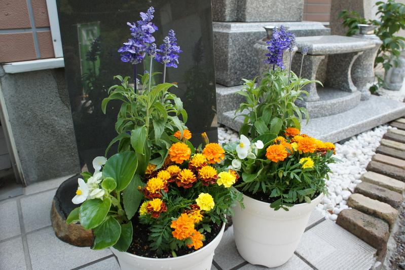 K家様 新規建墓工事-フラワーポット-  2012.5.27_e0223769_15365599.jpg