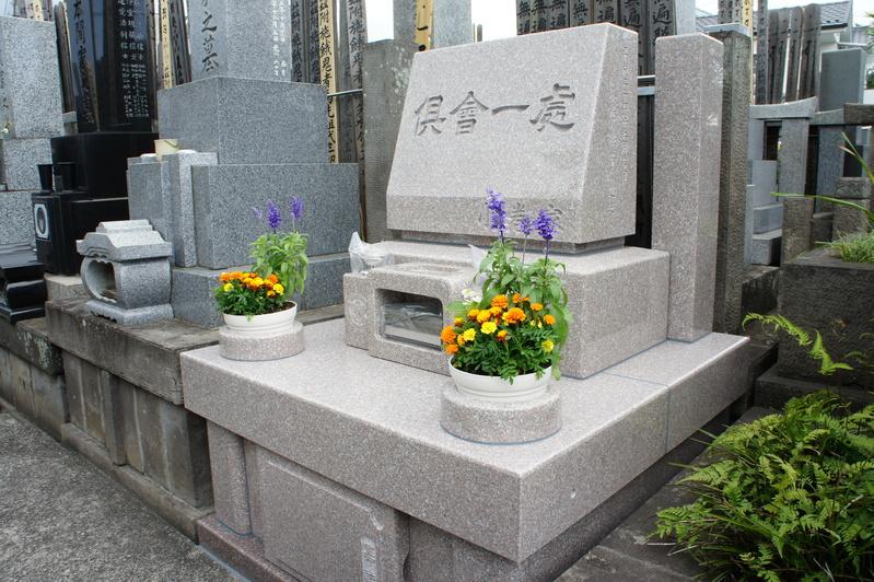 K家様 新規建墓工事-お引渡し-  2012.5.28_e0223769_15391849.jpg