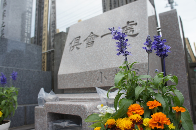 K家様 新規建墓工事-お引渡し-  2012.5.28_e0223769_15393281.jpg