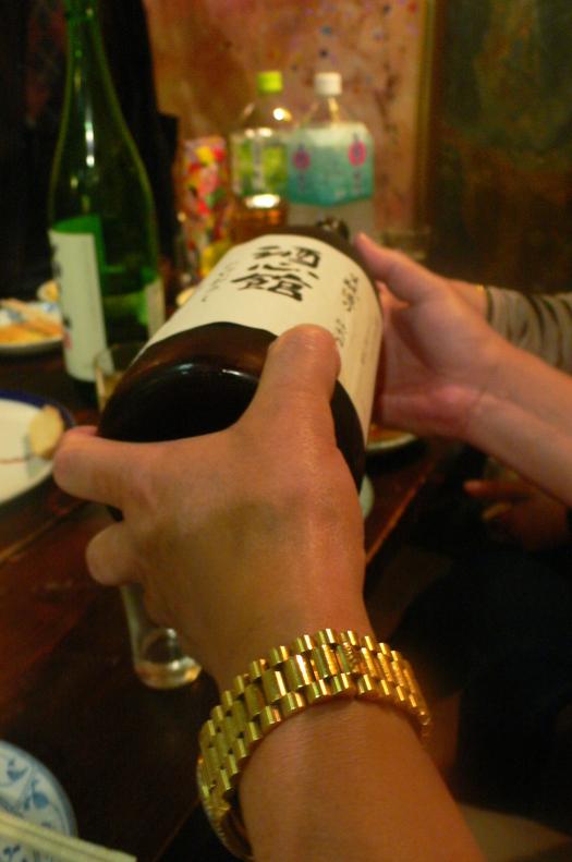 12年古酒「神戸酒心舘」、新鮮ですらあるこの風格!_c0061686_672950.jpg