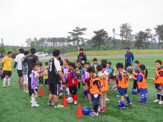 JFAキッズサッカーフェスティバル2012in潟上市_e0272194_22231345.jpg