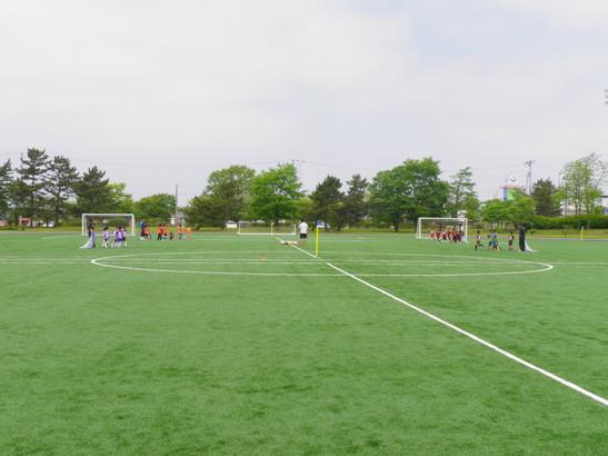 JFAキッズサッカーフェスティバル2012in潟上市_e0272194_22235678.jpg