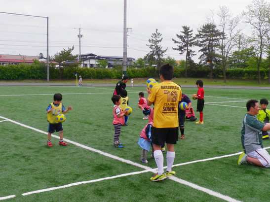 JFAキッズサッカーフェスティバル2012in潟上市_e0272194_2224487.jpg