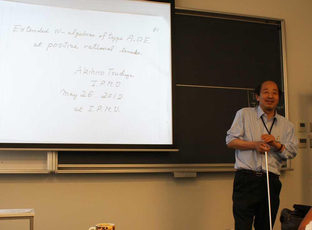 土屋教授の最終講義@Kavli IPMU_c0163819_11281476.jpg